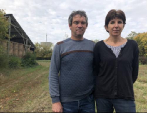Chez Didier et Isabelle Brault rencontre avec la présidente du syndicat des eaux
